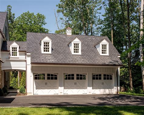 Colonial Detached Garage Plans